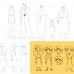 מתוך עיצוב הדמויות לסרט הגמר