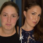 דניאלה באיפור וצילום שלי לפני ואחרי