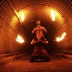 מופעי אש ואור זוגיים מהפנטים