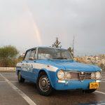 אלפא רומאו ג'וליה 1971 צבועה כניידת משטרה איטלקית