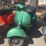 ווספה בצבע ירוק בקבוק, דגם ולוצ'ה שנת 76