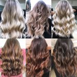 Hair color and blow dry