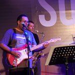 מתוך הופעה  עם להקת גושפנקא בזאפה באר שבע