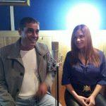 יואב יצחק ומורן כרמל באולפני פלטין