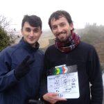 אחי הקטן עוזר בצילומי הסרט
