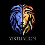 לוגו סטודיו virtualion המתמחה בטכנולוגיות VR|AR|XR