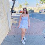 בוק עם שמלה לבנה