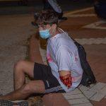איפור פציעות תרגיל של איחוד הצלה המדמה תאונה רבת נפגעים