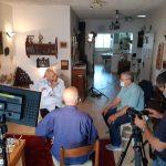 צילום מאחורי הקלעים לסרט דוקו סאלי ביין במאי דן וולמן