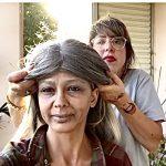 איפור ושיער יצירת הזקנה